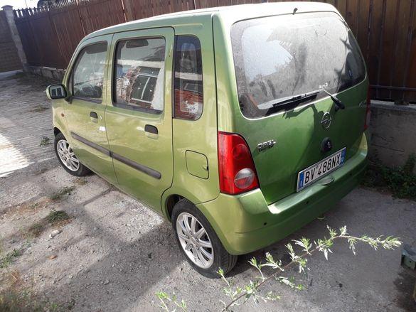 Опел Агила на части , Opel Agila