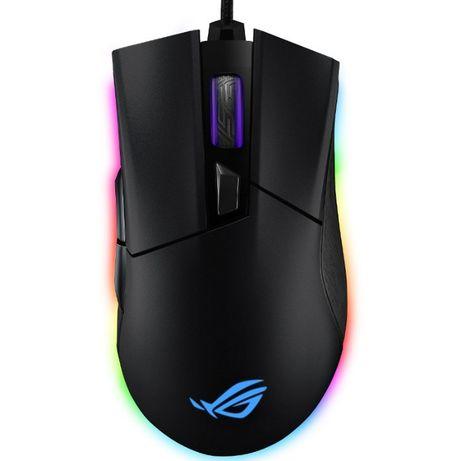 Mouse gaming ASUS ROG Gladius II Origin RGB switch Omron 12k Dpi Nou