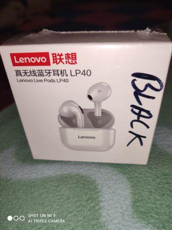 Vând căști Bluetooth Lenovo LP40