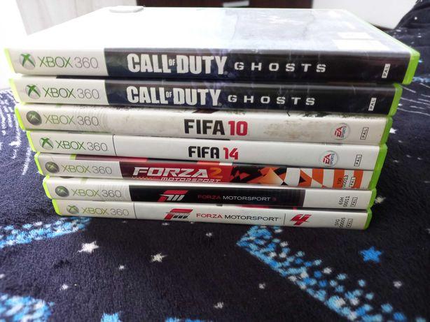 Vând Call of Duty,Fifa 10,Fifa 14,Forza Motorsport ,schimb cu fifa 19