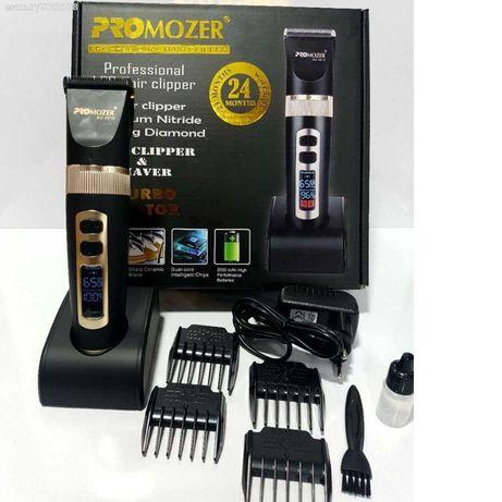 PRO MOZER 9818 Професионална машинка за подстригване LED дисплей Мозер
