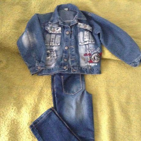 Costum jeans fete 7-9 ani