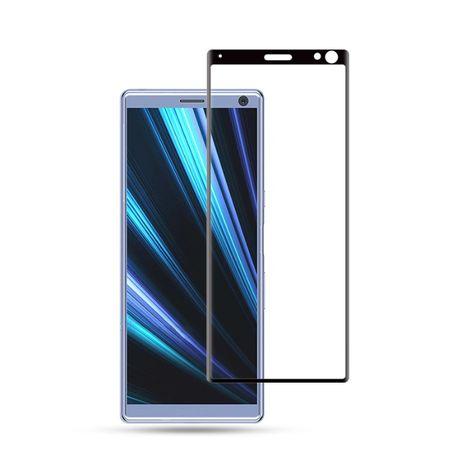 Закален извит удароустойчив 6D стъклен протектор за Sony Xperia 10