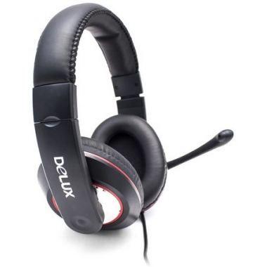 Наушники с микрофоном Delux DLH-868