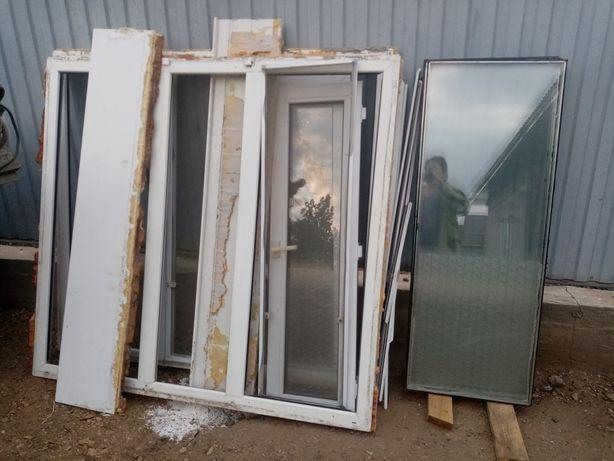 Пластиковые окна, стропила, обрешётки