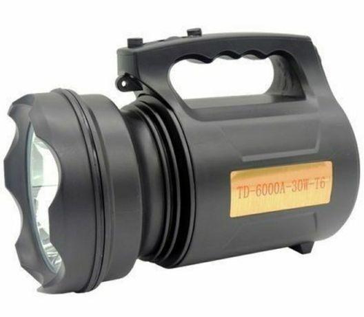Lanterna 30W LED,TD-6000A,portabila pentru vanatoare,pescuit NOU