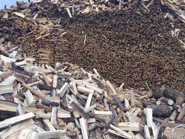 Сухие сосновые дрова