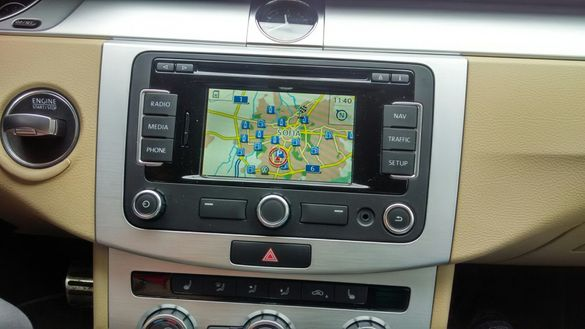 Сд карти за навигация VW RNS310-315 SD DISCOVER MEDIA Фолксваген Шкода