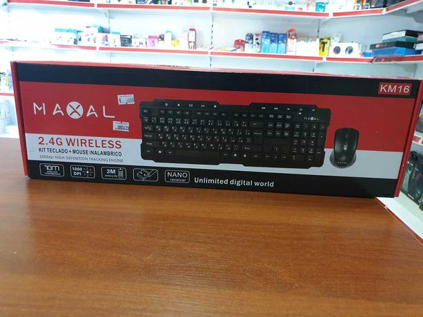 Клавиатура MAXAL беспроводная мышка+клавиатура