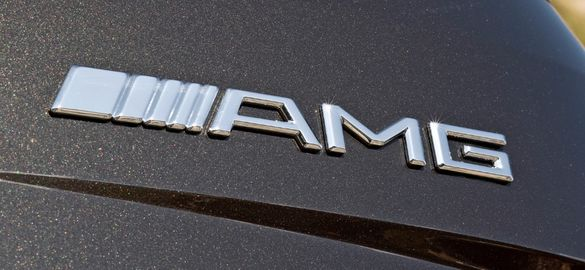 "Емблема ""АMG"" за багажник на Мерцедес Бенц"