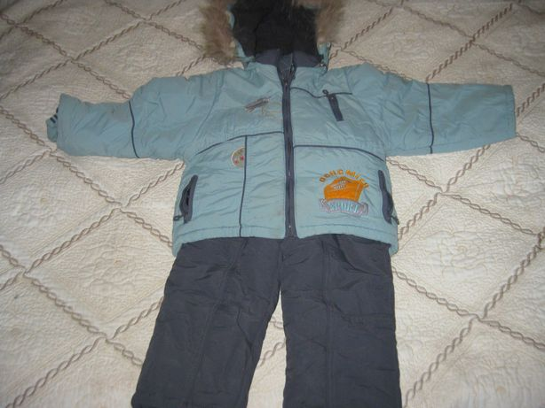 Комбинезон зимний на ребенка 3-4 лет, рост 126 см