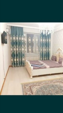 Посуточно сдается квартира в Нурсае, Авангарде, Привокзальном