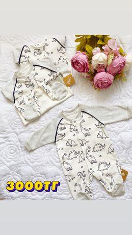 Слипы, комплекты для новорожденных