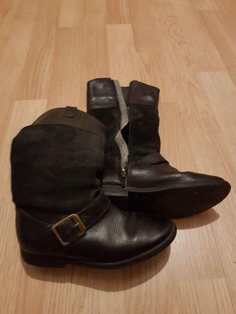 Vand cizme lungi de piele marimea 29