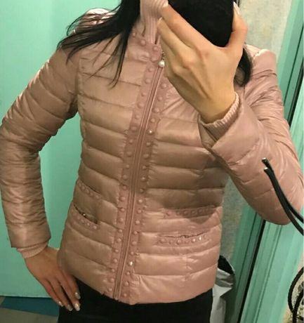 Ново с етикет дамско яке 90% гъши пух С М олекотено