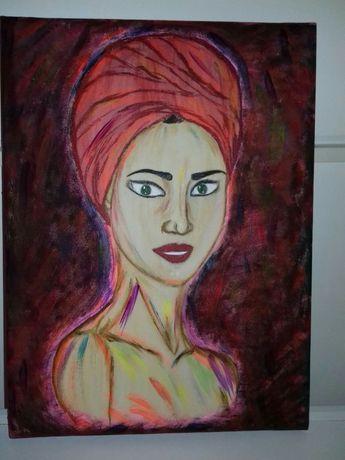 Картина Мулатка