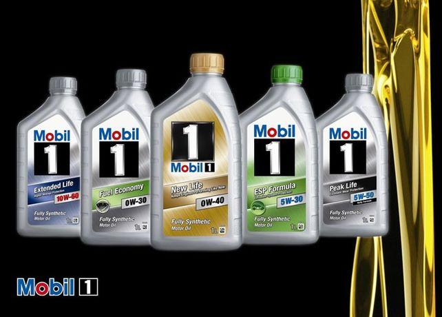 Замена масла Mobil.Мобил.