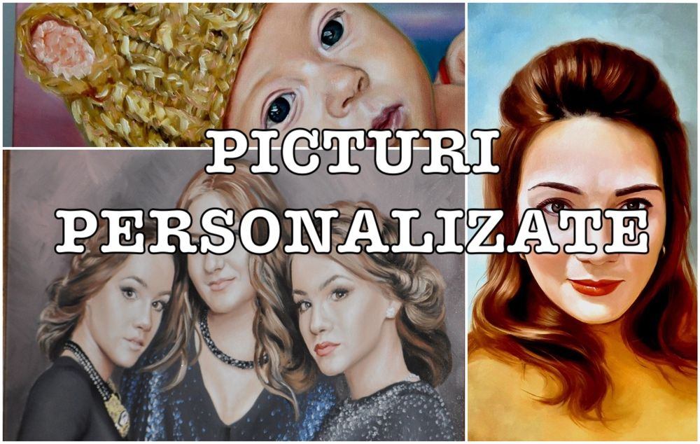Portrete pictate dupa poza Bacau - imagine 1