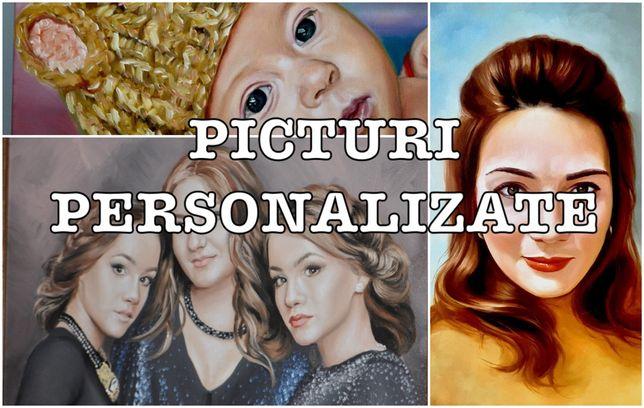 Portrete pictate dupa poza