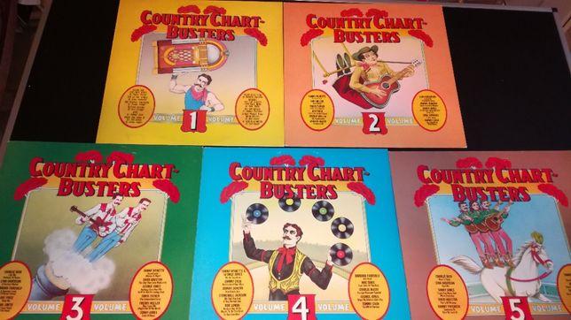 Vinil/vinyl - Country Chart - Busters - set 5 LP