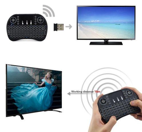 Mini Tastarura Wireless Smart tv, pc,laptop, tv box cu acumulator