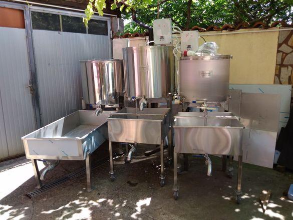 Пастьоризатори за мляко и други изделия от инокс