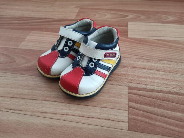 Ортопедические ботинки, натуральная кожа, размер 19, для мальчика.
