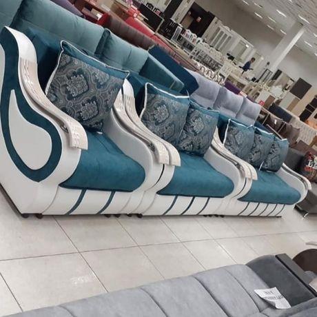 3-2-1 новые привозные диваны с креслами раскладные