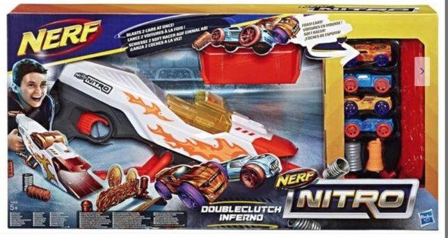 Jucarie Nerf Nitro Doubleclutch Inferno