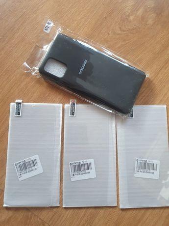 2 бр протектори и 2 бр кейс за Samsung Galaxy A71