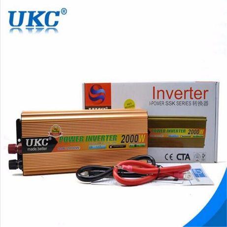Инвертор 12 v-220 v, или 24 v-220 v - различни мощности
