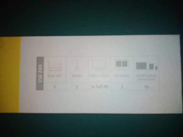 Barco ClickShare CSE-200 Безжична система за презентацииt