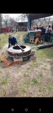 Lichidare de stoc la vand cazane de țuică de cupru de 50l 100l 150l 20