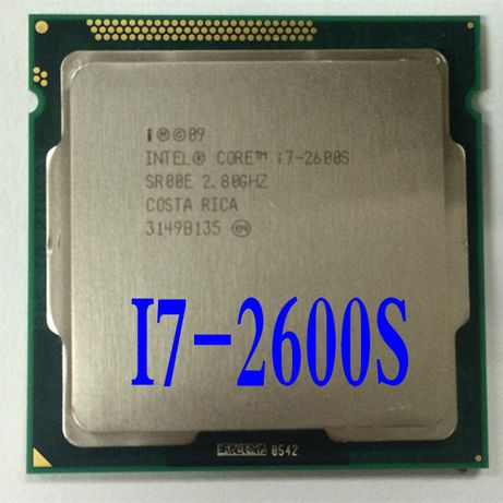 Procesor  I7 2600S Economic 65W 3.40-3.80Ghz, 8MB cache soket 1155