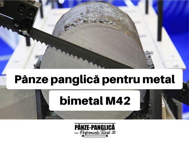 Panza panglica banzic bimetal M42, panza fierastrau banda pentru metal