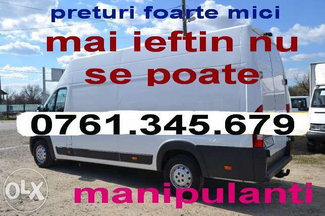 Transport marfa.mutari.mobila.preturi extrem de mici.manipulare