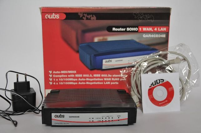 Vand Router Qubs 40X04E