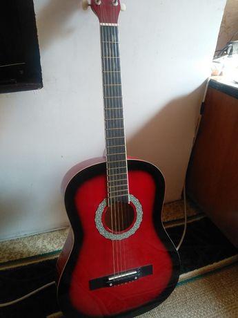 Agnetha handmade guitar, гитара в отличном состоянии!