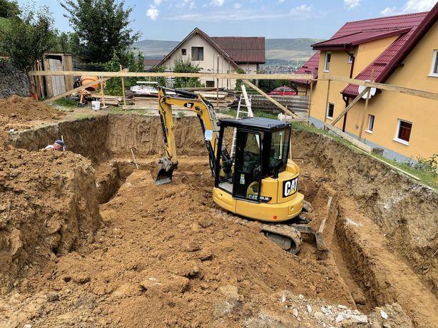 Inchiriez Excavator Buldo Bobcat Mini miniexcavator buldoexcavator