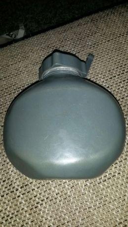 Ghamela recipient bidonas plosca militar - turist aluminiu