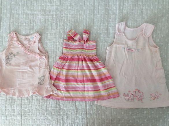 Роклички рокля за бебе