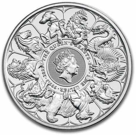 2 oz Сребро Зверовете на Кралицата - Завършващата