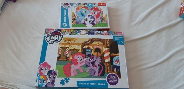 Puzzle micii poney/my little pony