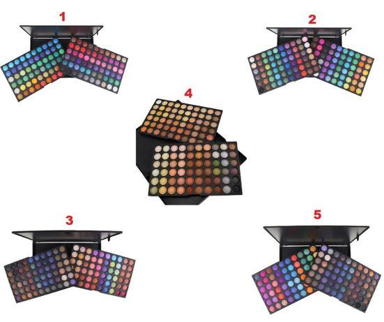 Trusa Profesionala de Farduri cu 120 Nuante -Paleta Make Up 120 culori