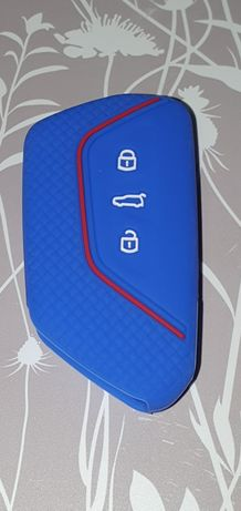Husa silicon pt cheie Wolkswagen  golf mk8, Skoda