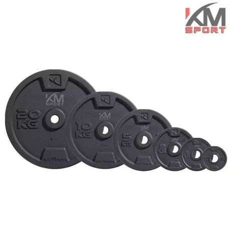 2 метални диска по 5кг - тежести , фитнес оборудване