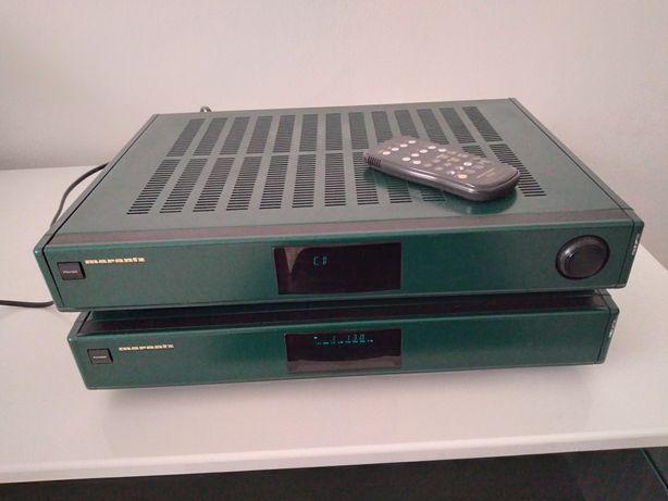 Linie Marantz (amplituner+cd deck recorder)