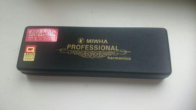Профессиональная губная гармошка Professional Tremolo
