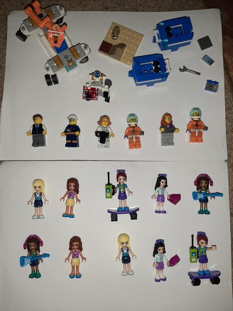 Лего минифигурки ,человечки lego