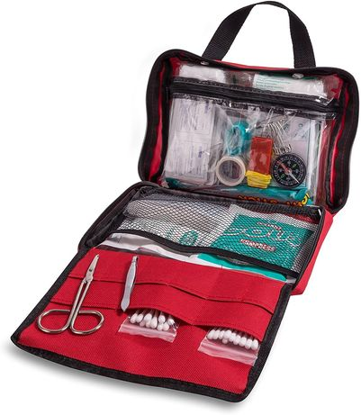 First Aid Supplies - First Aid Kit for Car - 200 Pieces - Medical Supp